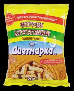 (Русский) Отруби ДиетМарка Пшеничные